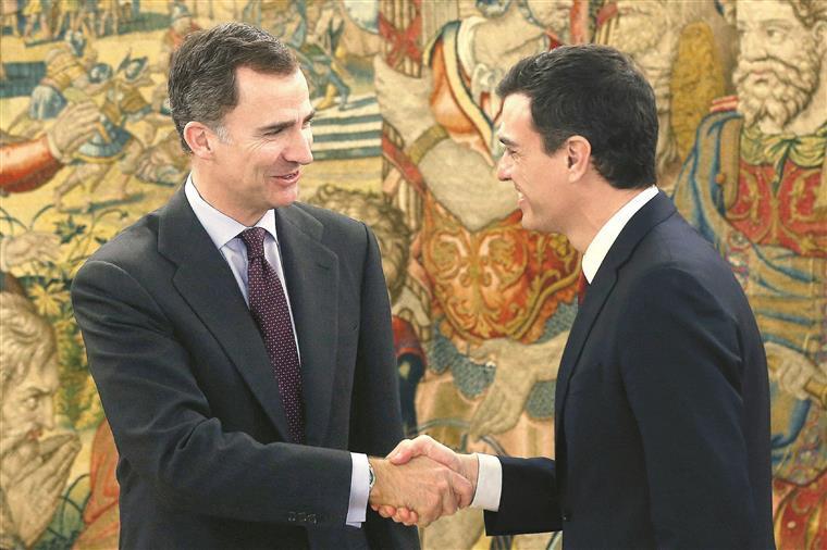 Sánchez ainda não conseguiu cumprir o desafio proposto por Felipe VI
