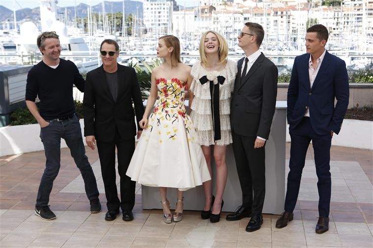 "O elenco de ""The Neon Demon"""