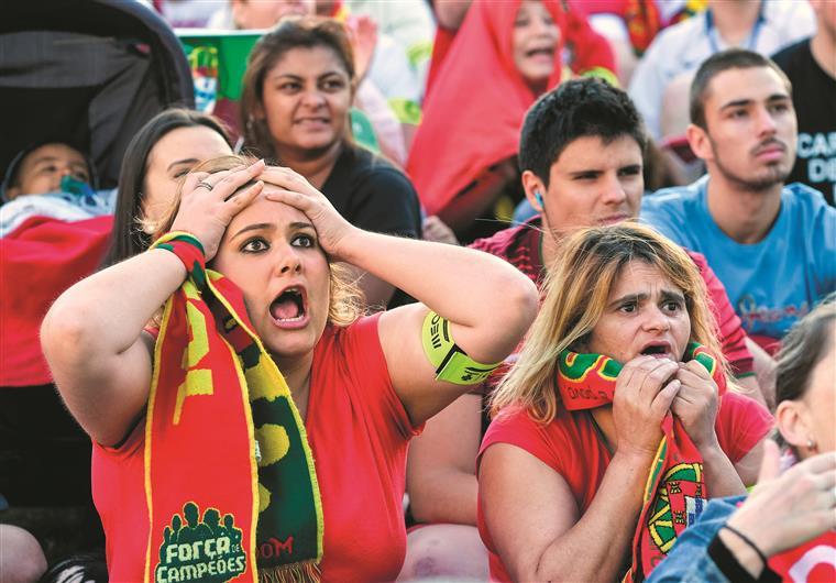 Calma... Portugal empatou os dois primeiros jogos no Euro 84 em França e chegou às meias-finais
