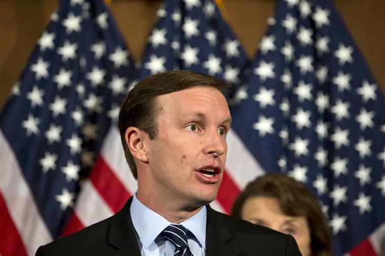 Chris Murphy, senador democrata eleito pelo estado de Connecticut