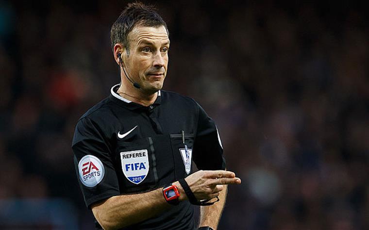 Mark Clattenburg é um dos melhores árbitros de Inglaterra