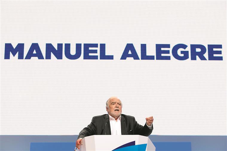 """Alegre diz que seria """"um grande erro político"""" da União Europeia aplicar sanções a Portugal"""