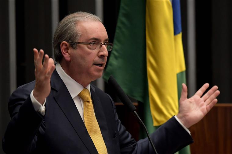 Eduardo Cunha discursou na Câmara dos Deputados, após a votação