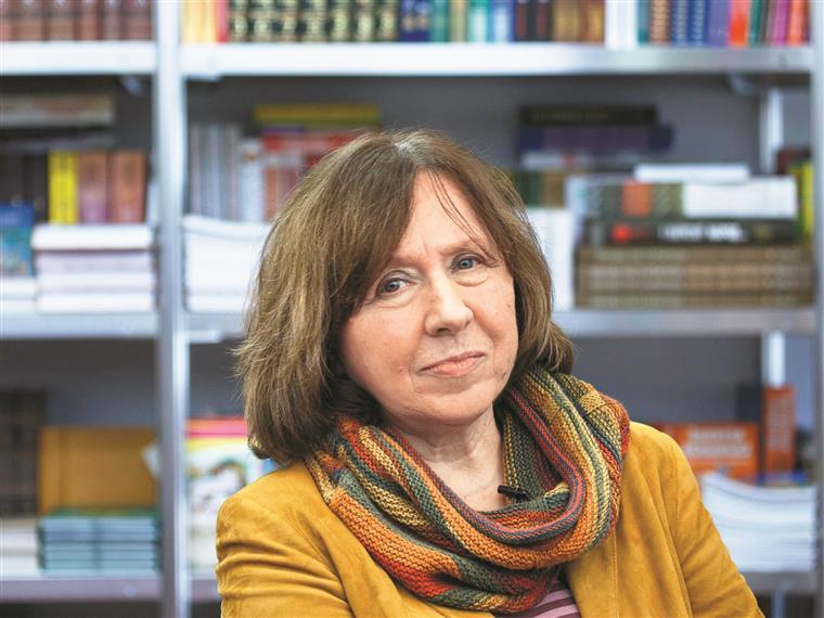 Svetlana Alexievich, Prémio Nobel da Literatura em 2015