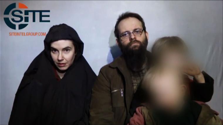 O último vídeo dos reféns, divulgado pelos captores, é de dezembro de 2016