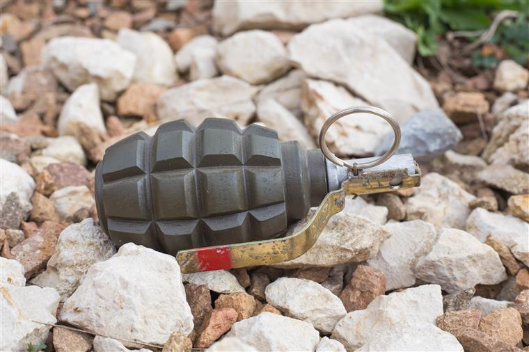 Armamento desaparecido da base de Tancos encontrado na Chamusca