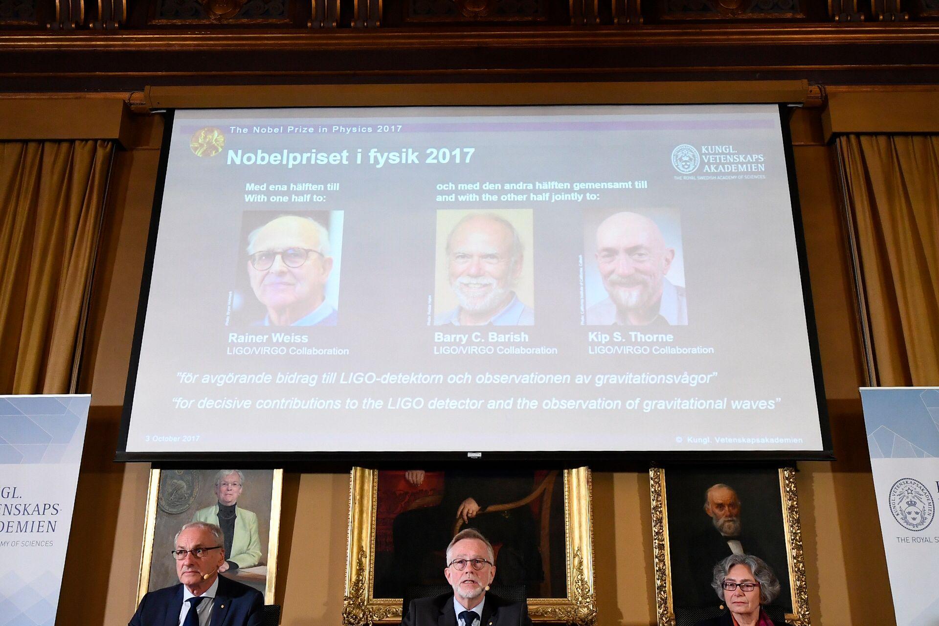 Prémio Nobel da Física já tem vencedores anunciados