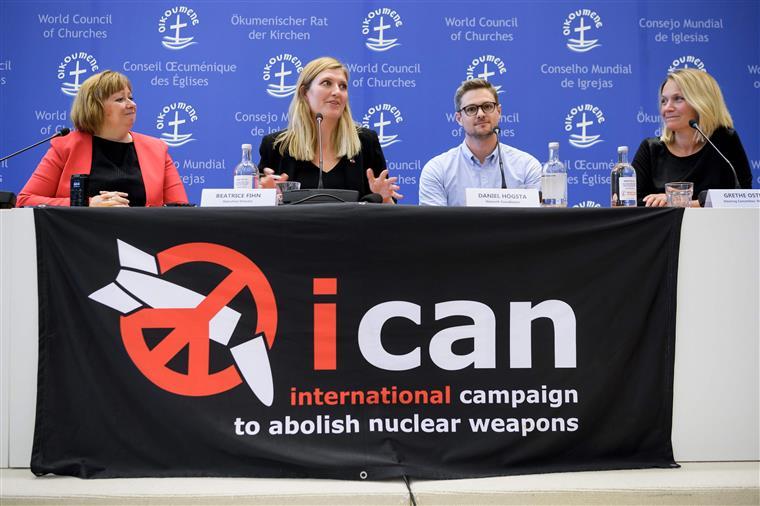 ICAN tem feito pressão para a ONU aprovar um tratado que ponha fim às armas nucleares