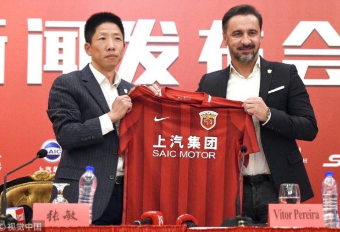 Vítor Pereira anunciado como substituto de Villas-Boas no Xangai SIPG