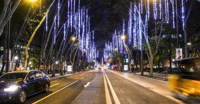 Avenida da Liberdade volta a estar solidária este Natal