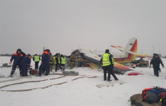Dois mortos em acidente de avião na Rússia