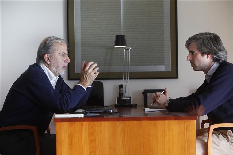José António Saraiva e o filho, José Cabrita Saraiva