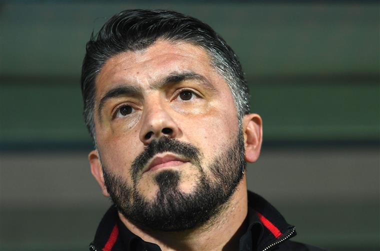Gattuso, treinador do AC Milan, com arranque no comando técnico da equipa para esquecer
