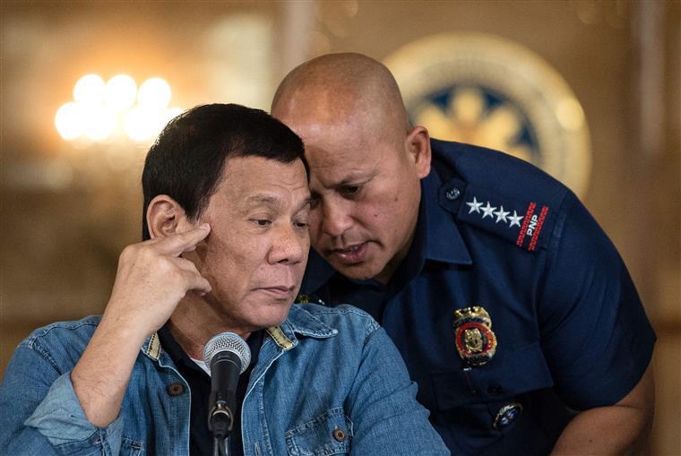 Rodrigo Duterte tem sido implacável no combate à criminalidade