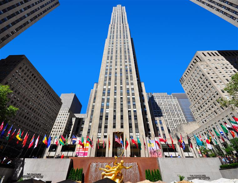 Rockefeller Center- Um dos locais históricos de Nova Iorque batizado com o nome do avô de David Rockefeller