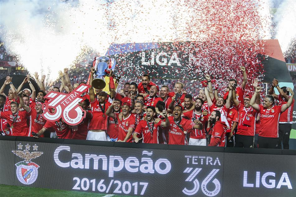 Nacional Benfica: Benfica Sagra-se Campeão Nacional