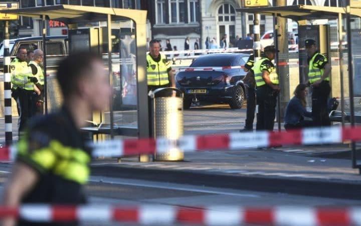 Polícia confirma que atropelamento em Amesterdão não é um ataque terrorista