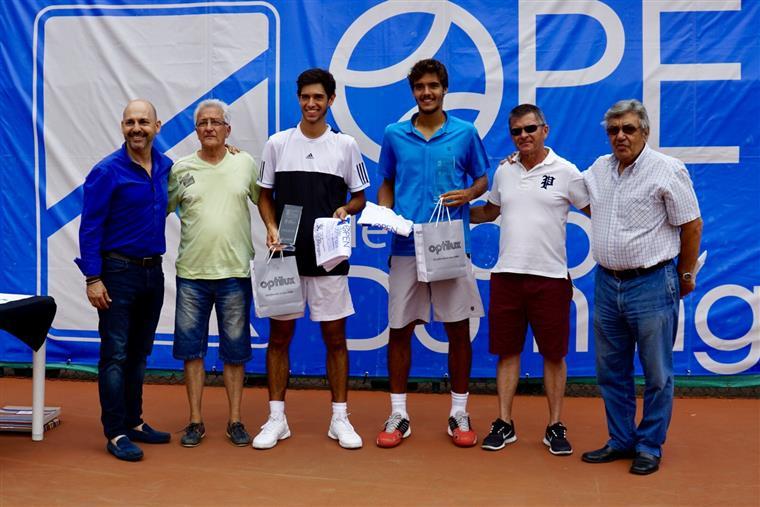 Golfe. João Monteiro e Nuno Borges na final