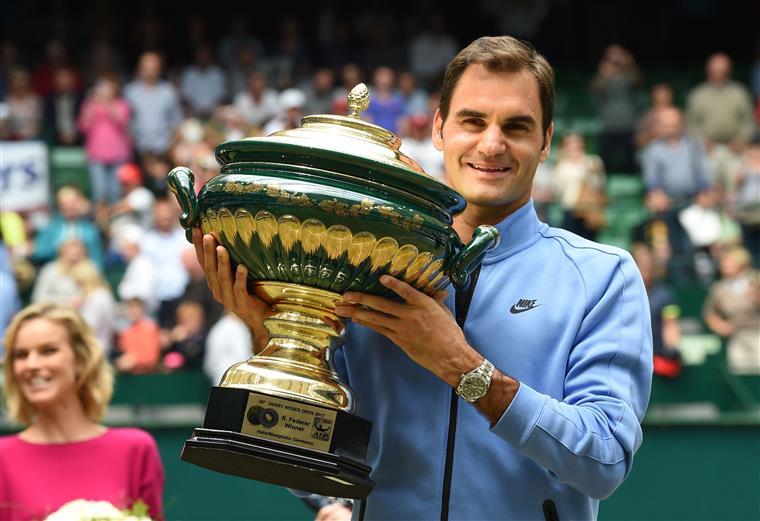 Ténis. Federer vence torneio em Halle