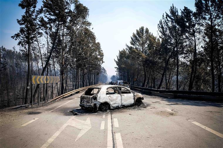 """Incêndio em Pedrógão Grande. Costa diz que zona vai servir de """"território piloto"""""""