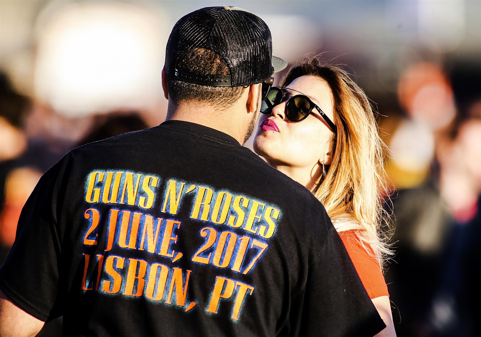 As Imagens Do Concerto Dos Guns N' Roses Em Lisboa