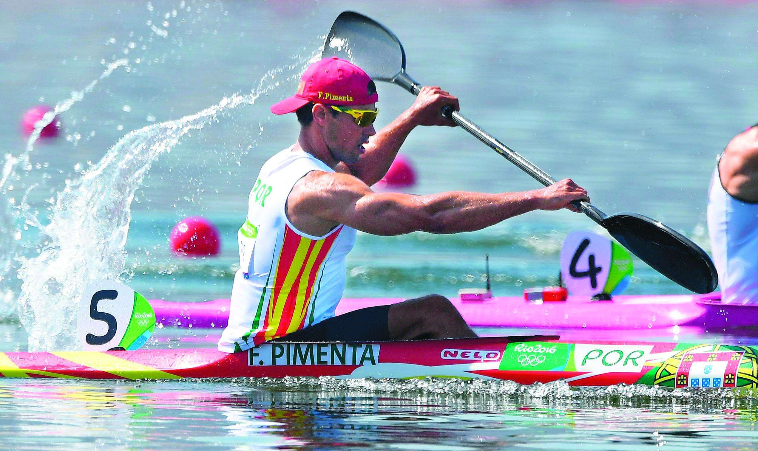 Europeus de canoagem. Fernando Pimenta na final de K1 1000