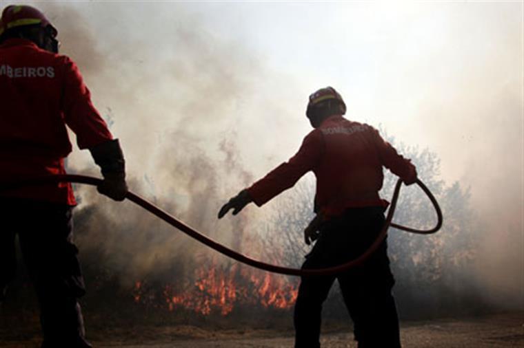 Fogo em Alijó em fase de resolução — Incêndios