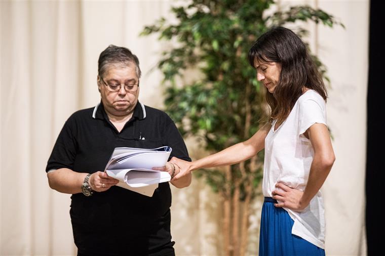 """Cristina Vidal com Isabel Abreu, em """"Sopro"""""""
