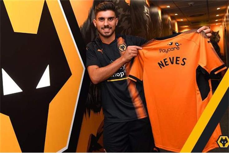 Rúben Neves e Boly no Wolverhampton — Oficial