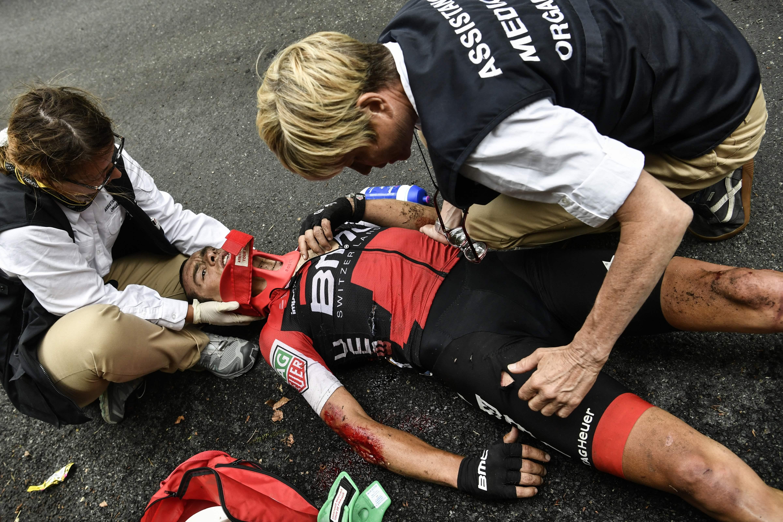 Richie Porte abandona devido a dupla fratura — Tour