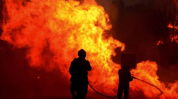 12 habitantes de aldeias em Abrantes retirados das suas casas — Incêndios