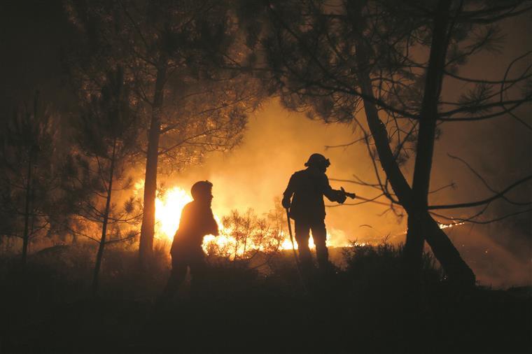 Mobilizados sete meios aéreos no combate às chamas em Chaves