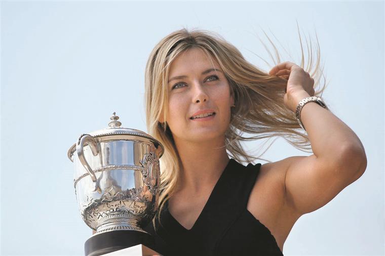 O regresso de Maria Sharapova