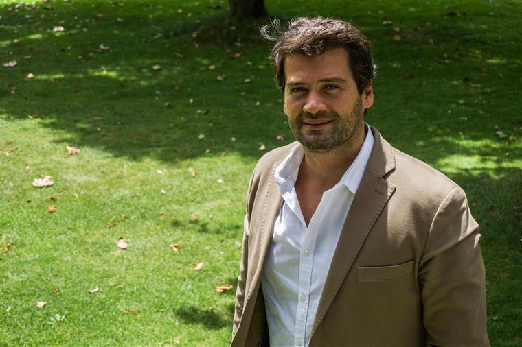 André Ventura com baixa na campanha