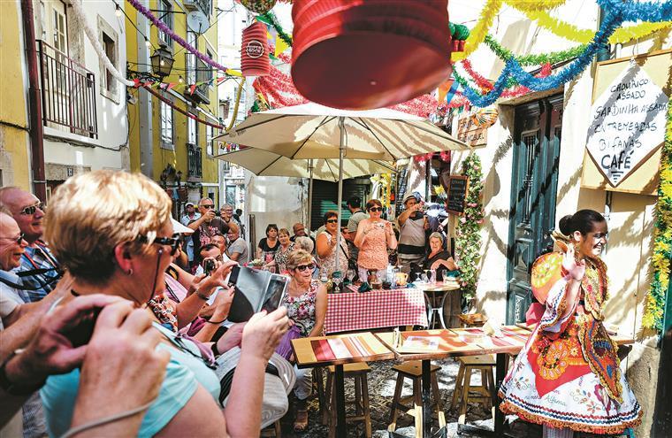 Receitas. Turistas gastam cada vez mais em Portugal
