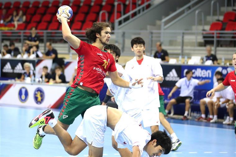 Andebol. Portugal ganha ao Japão e termina no 7º lugar do Mundial de Sub19 Masculinos
