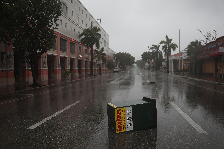 NASA divulga imagens de satélite do fenômeno — Furacão Irma
