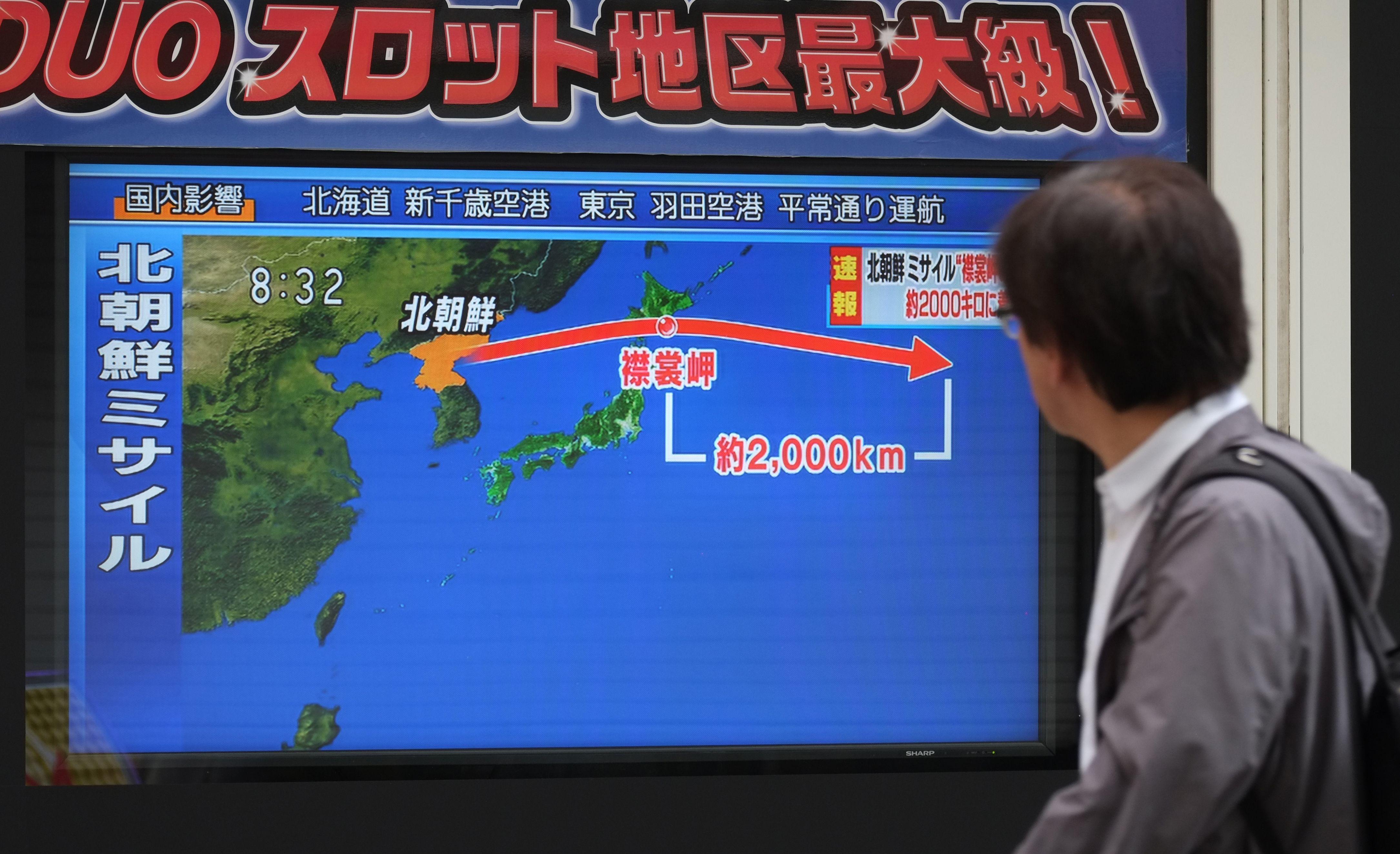 Coreia do Norte tinha Guam em mente ao lançar novo míssil