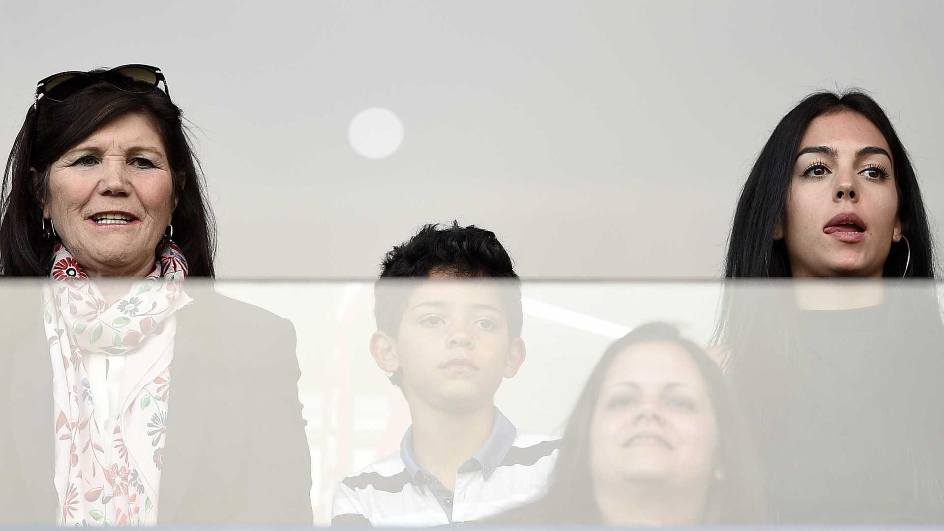 Cristiano Ronaldo e Georgina Rodríguez em Alvalade