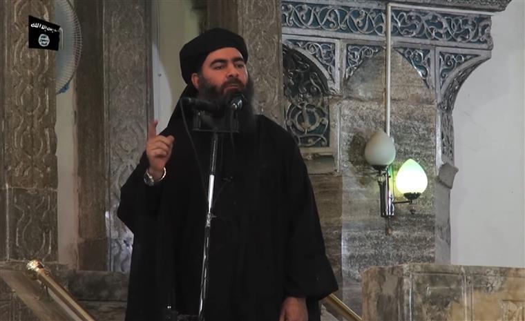 Baghdadi em 2014