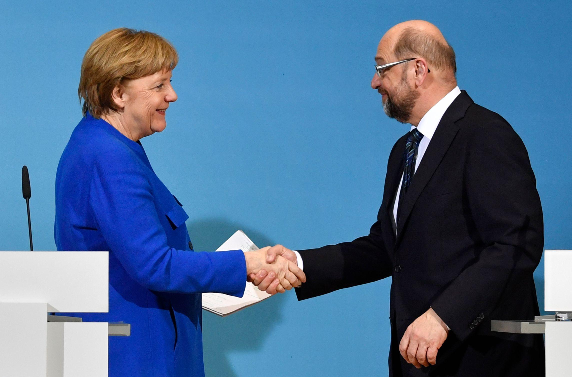 Acordo político na Alemanha saudado pelas instituições e parceiros europeus