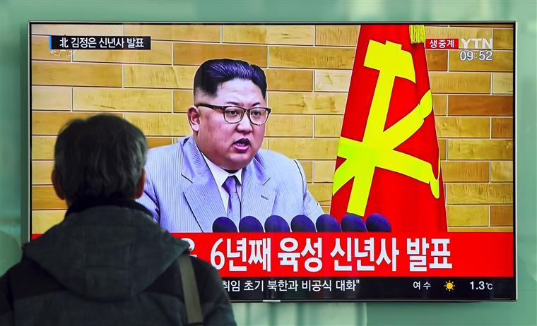 Kim Jong-un tinha sugerido enviar uma delegação a Pyeongchang