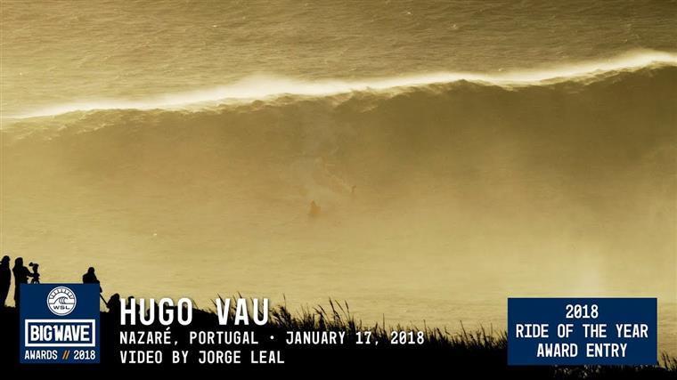 Surfista português e o recorde mundial