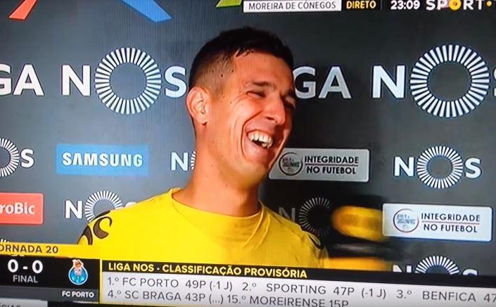 Quando um jogador pensa que perdeu mas conquistou um precioso ponto