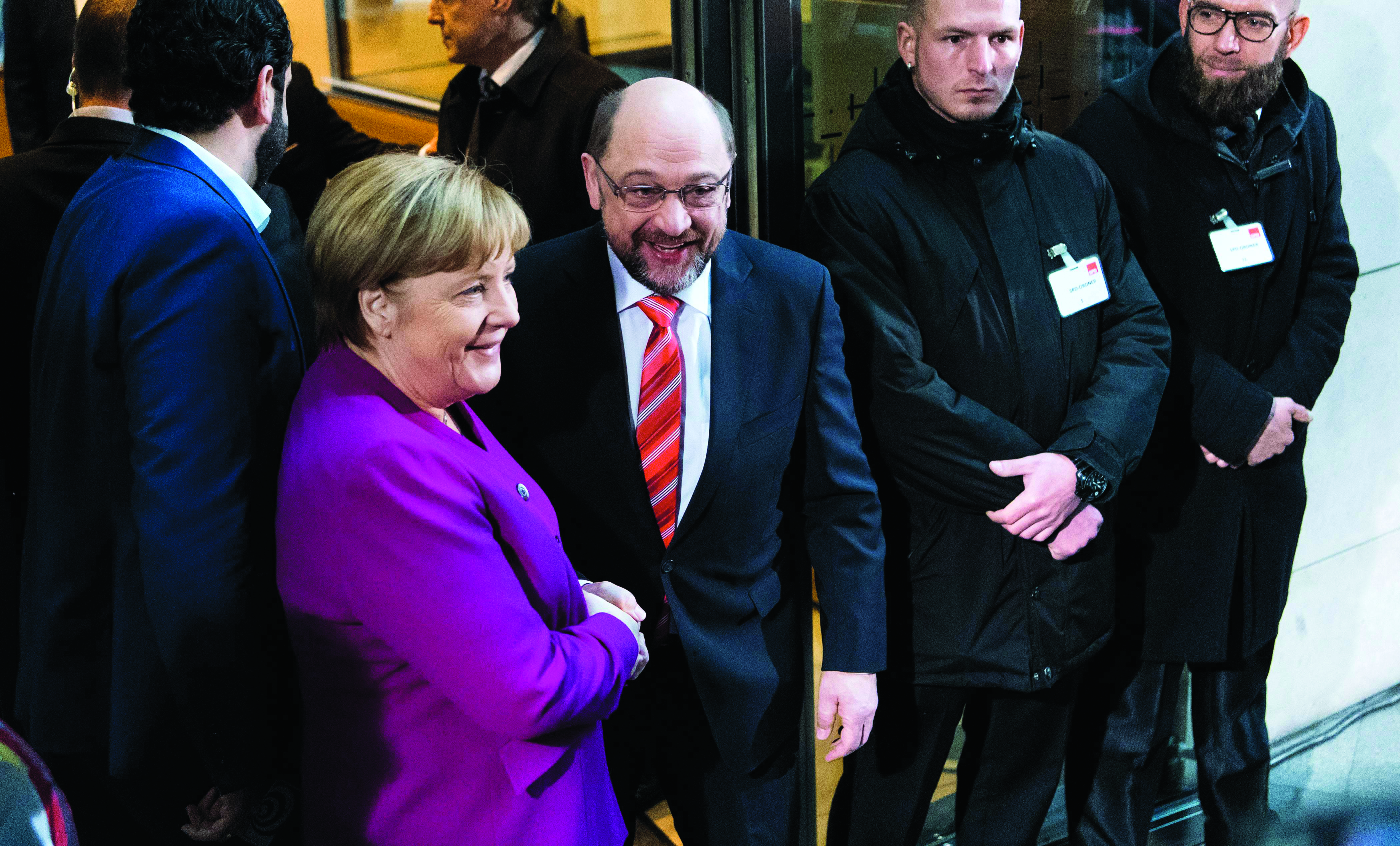 Merkel optimista sobre formação de Governo na Alemanha