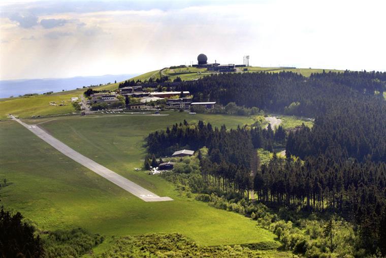 Aeroporto no monte Wasserkuppe