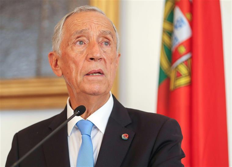 Marcelo recebido com manifestação no Funchal
