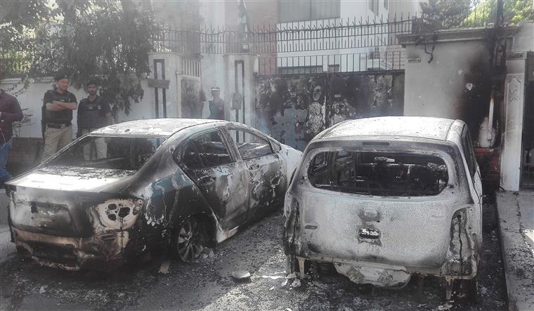 Resultado de imagem para Homens armados atacam consulado chinês no Paquistão
