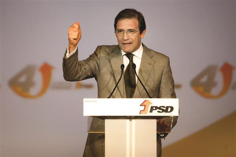 Congresso PSD. Passos Coelho: 'Tirámos o país da quase bancarrota'