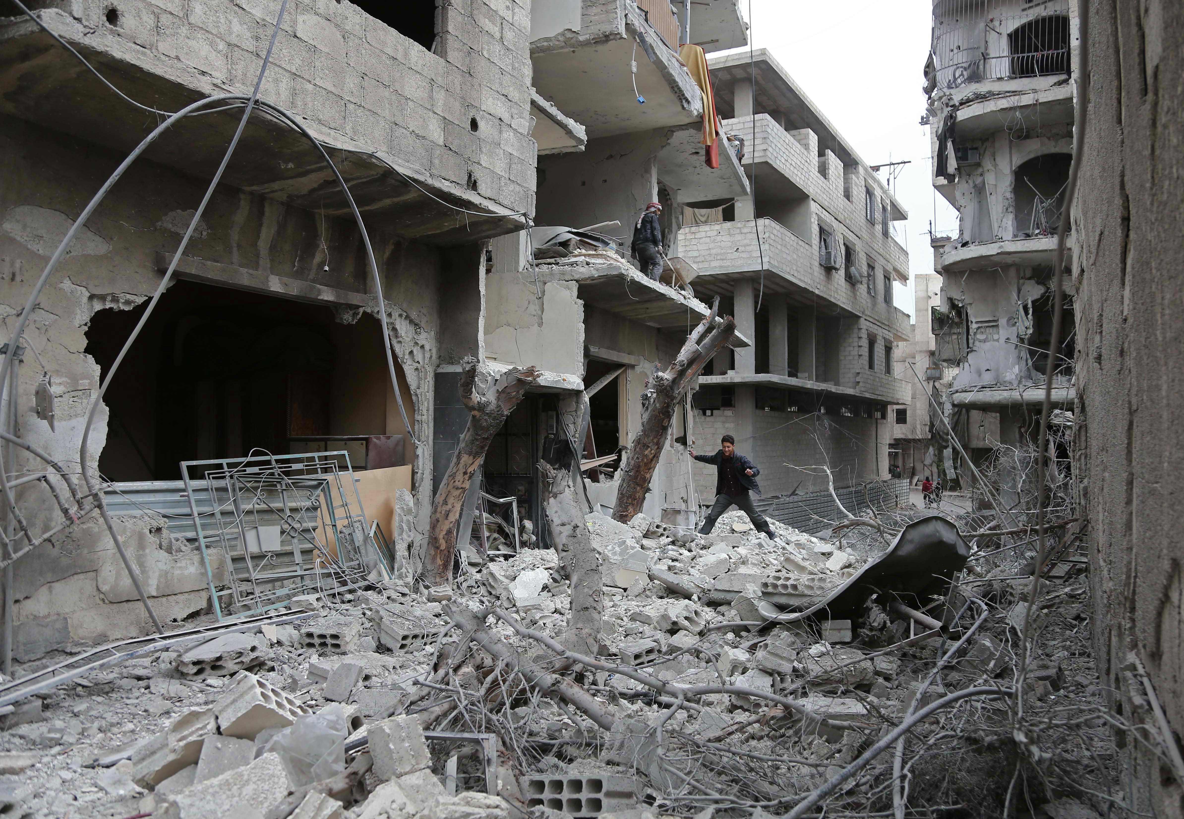 ONU diz que combates continuam em Ghouta Oriental